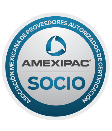 Sello Socios AMEXIPAC